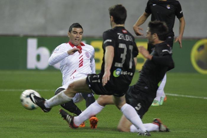 Jornada 26: Sevilla F.C. 1-0 Real Sociedad