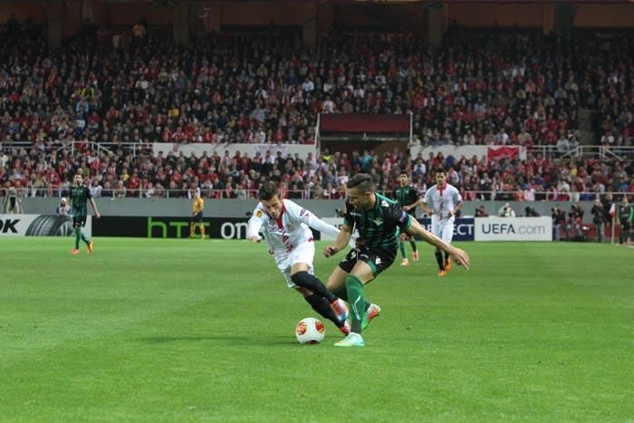 Ida 1/8 Europa League: Sevilla F.C. 0-2 Real Betis