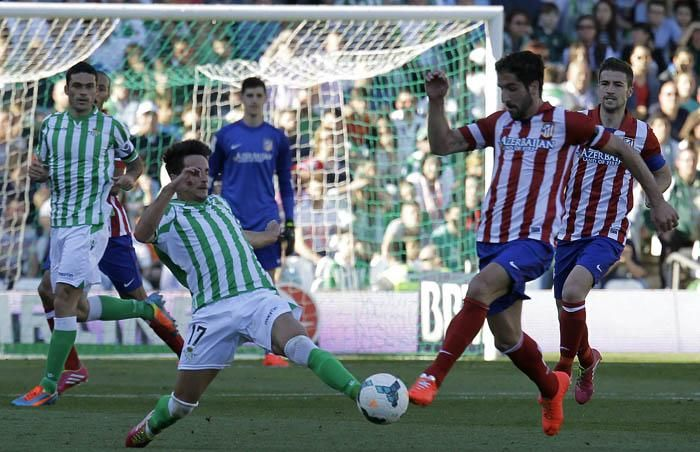 Jornada 29: Real Betis 0-2 At. de Madrid