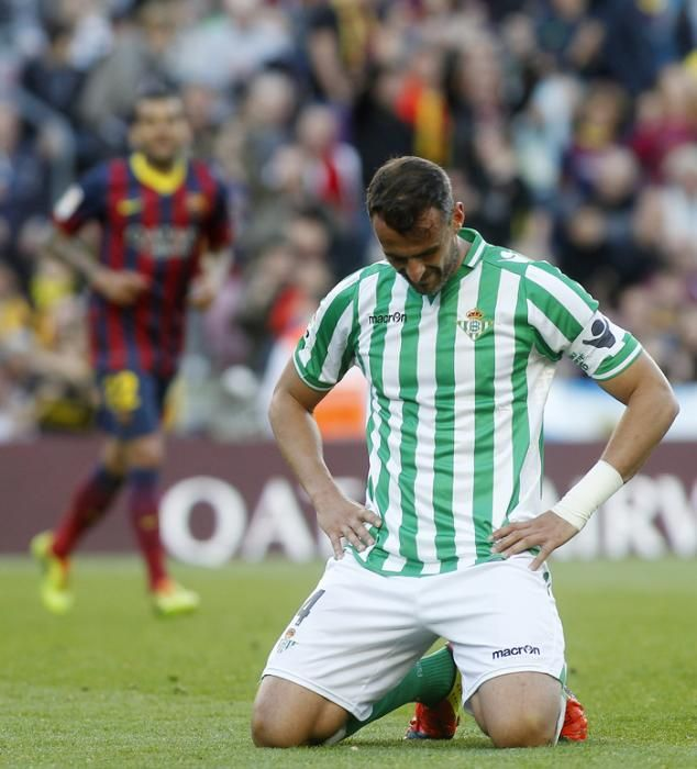 El Betis salió derrotado del Camp Nou