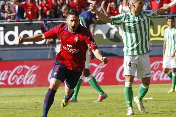 Jornada 38: Osasuna 2-1 Real Betis