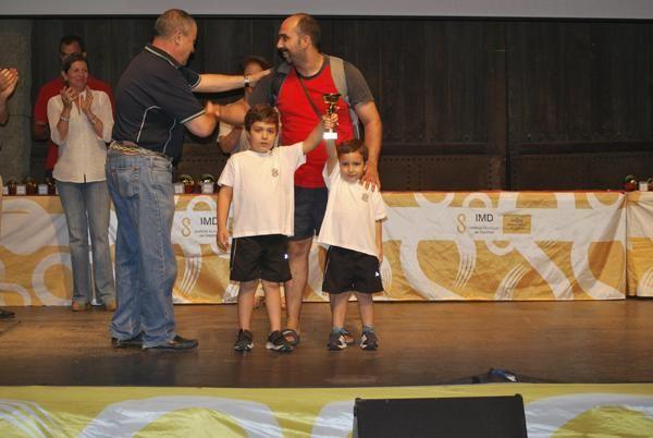 Entrega de trofeos Juegos Deportivos Municipales