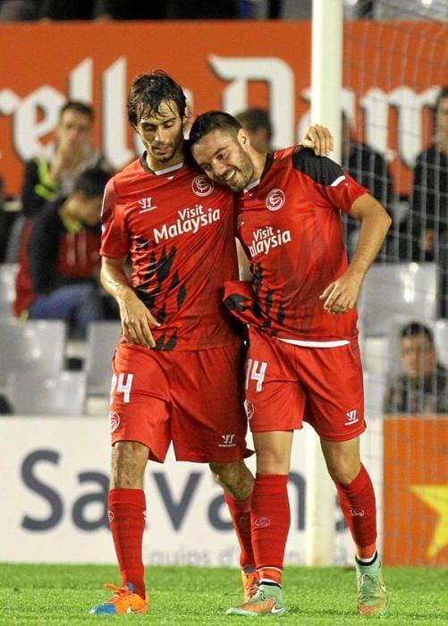 Ida 1/16 Copa del Rey: Sabadell 1-6 Sevilla F.C.