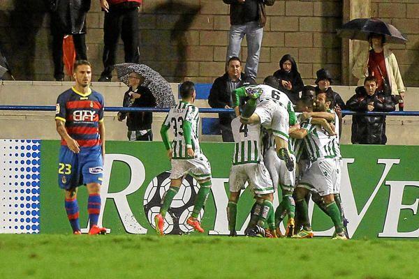 Jornada 15: Llagostera 0-2 Real Betis