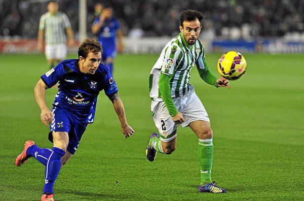 Jornada 20: Real Betis 3-1 Tenerife