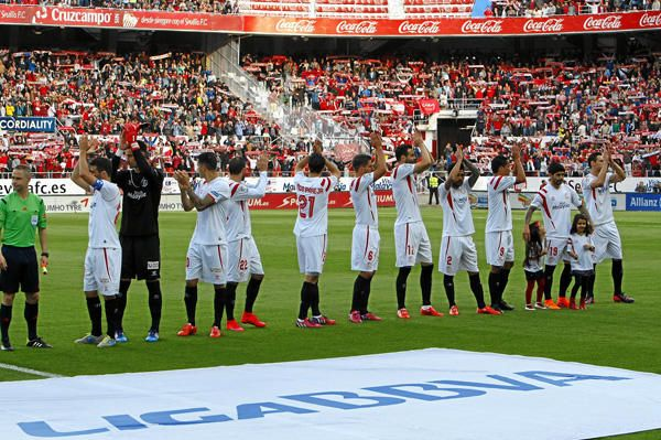 Jornada 31: Sevilla F.C. 2-2 F.C. Barcelona