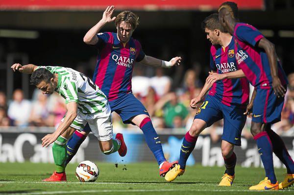 Jornada 33: Barça B 1-2 Real Betis - estadiodeportivo.com