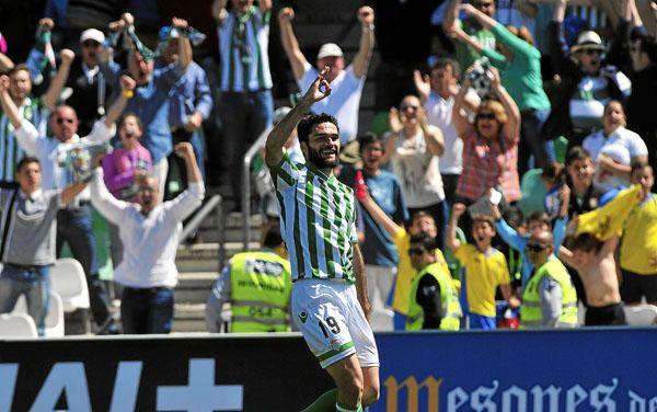 Jornada 34: Real Betis 4-0 Zaragoza