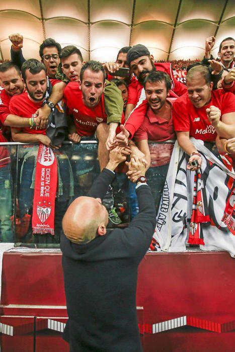 Así fue la celebración de la cuarta Europa League
