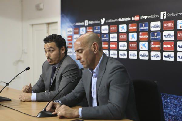 Presentación de Krohn-Dehli con el Sevilla F.C.