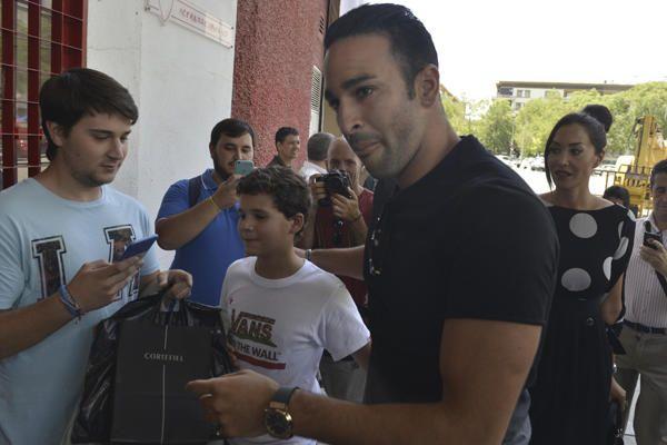 Presentación de Escudero y Rami con el Sevilla F.C