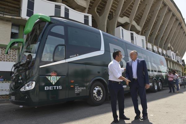 Nuevo autobús del Real Betis