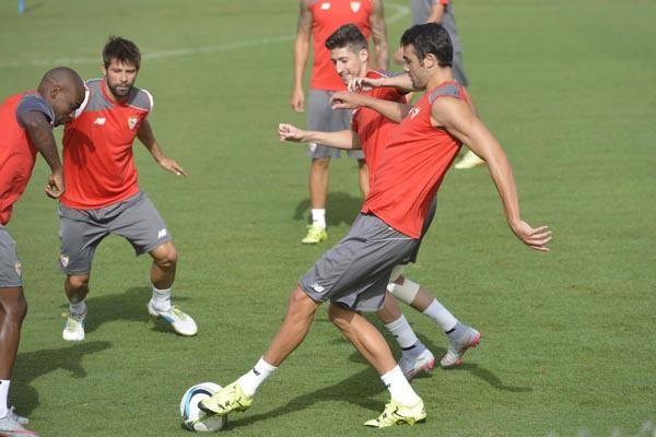 Entrenamiento del Sevilla F.C. (6-8-2015)