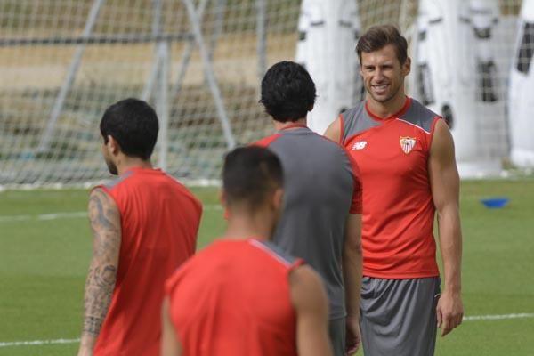 Entrenamiento del Sevilla F.C. (17-8-15)