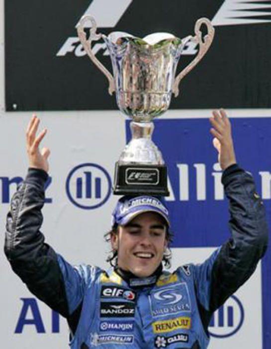 10 años del primer título de Fernando Alonso