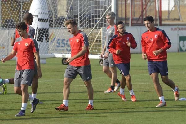 Entrenamiento Sevilla F.C. (9/10/15)