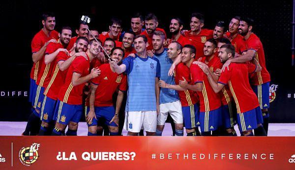 La nueva equipación de España para la Euro 2016