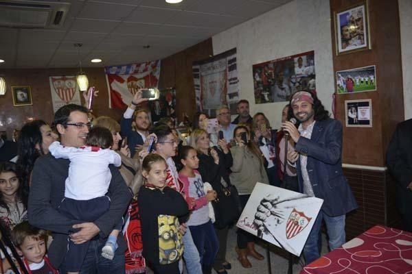 Inauguración de la Peña Sevillista El Arrebato
