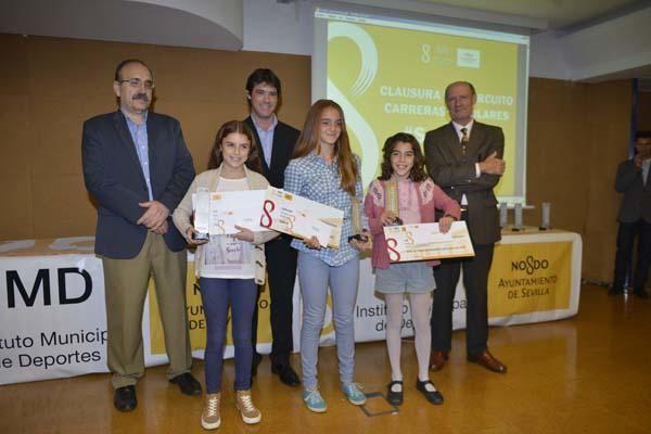 Entrega de Premios Carreras Escolares 2015 IMD