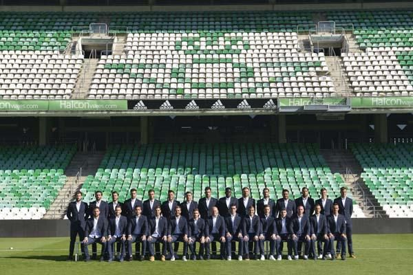 Foto Oficial del Real Betis 2015/16