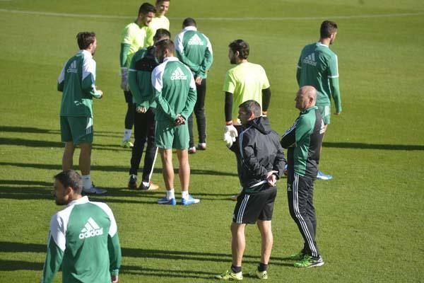 Entrenamiento Betis (26/11/2015)