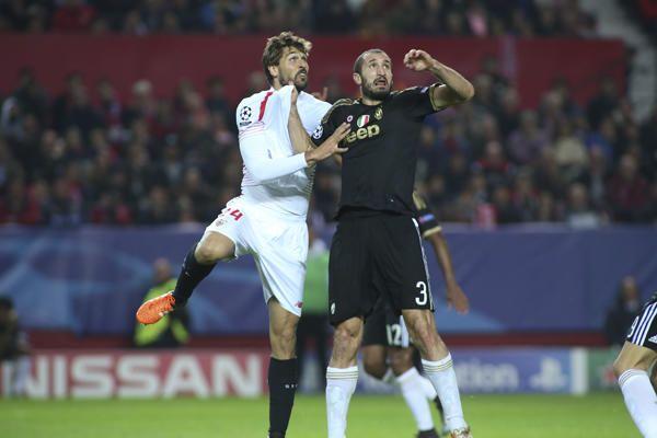 SevillaFC-Juventus de Champions (08/12/2015)