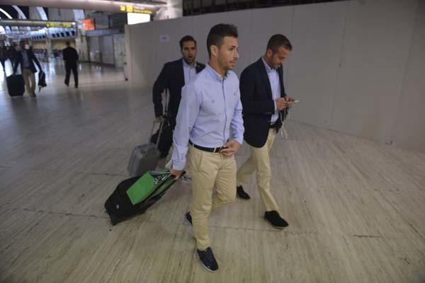 Viaje del Betis hacia Las Palmas