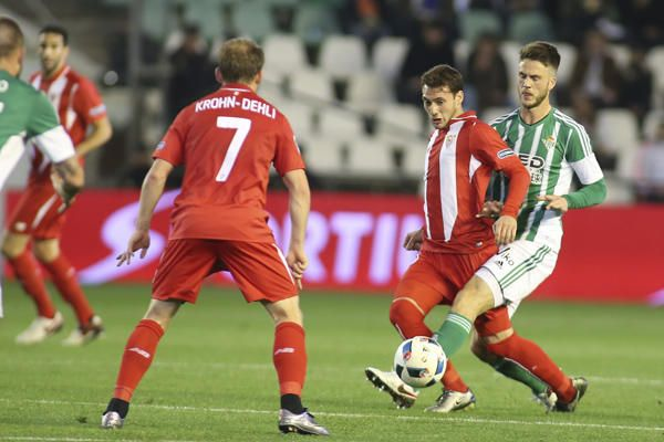 El Betis-Sevilla de Copa del Rey, en imágenes