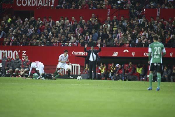 El Sevilla-Betis de Copa, en imágenes