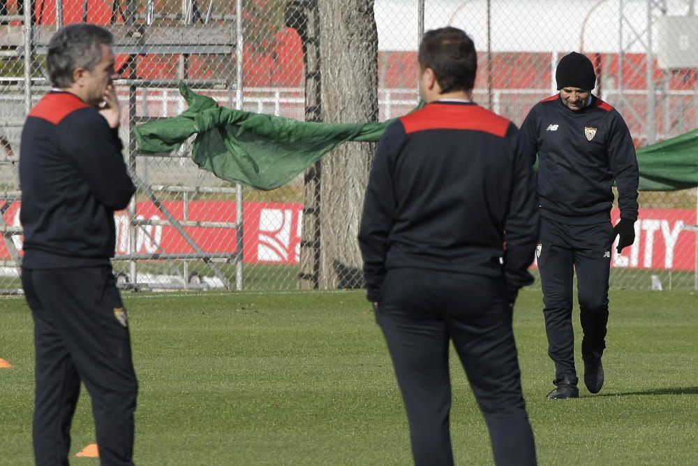 El primer entrenamiento de Jovetic