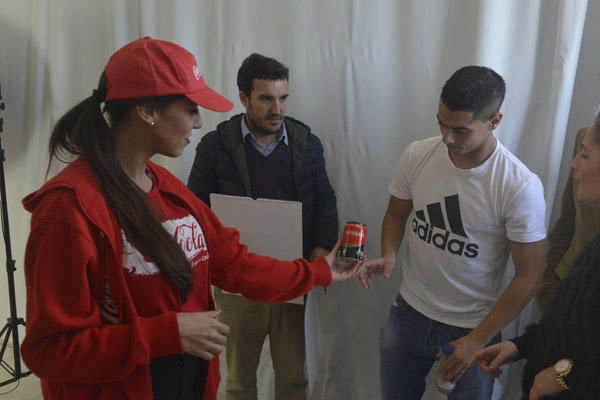 Coca-Cola y Sevilla FC presentan su calendario