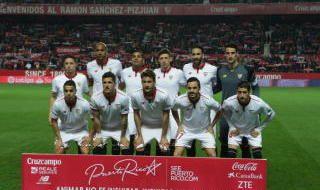 Las notas del Sevilla F.C.-Eibar