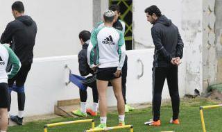 Entrenamiento del Betis (20/02/2017)