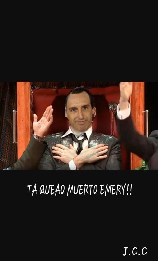Los ''memes'' de Unai Emery