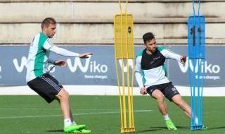 Durmisi y Tosca ya se entrenan con el Betis