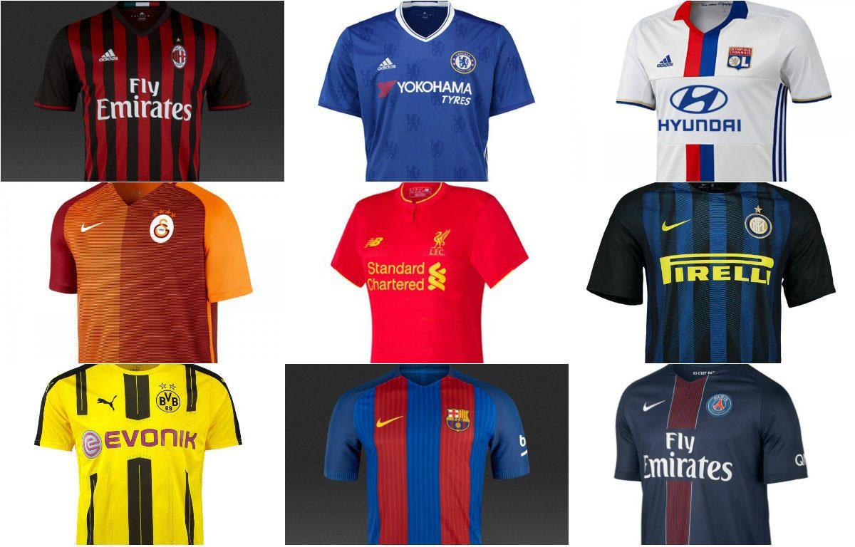 Las 20 camisetas de fútbol más vendidas del mundo - estadiodeportivo.com 89ff92ea271c7