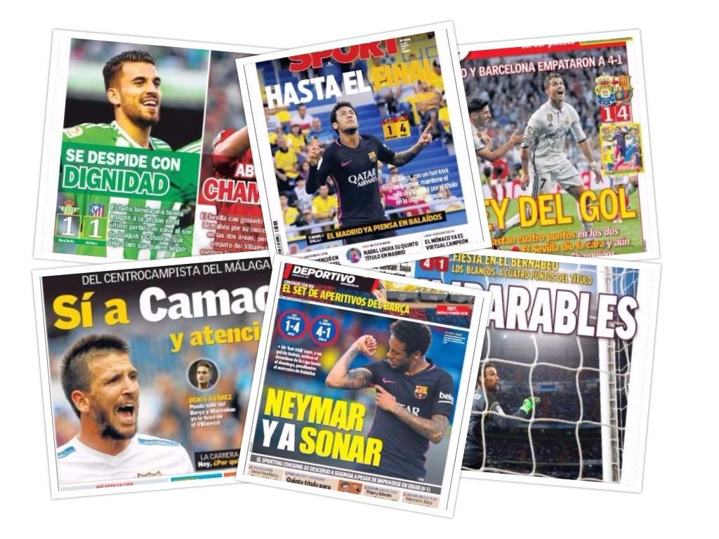 Las portadas del lunes 15 de mayo