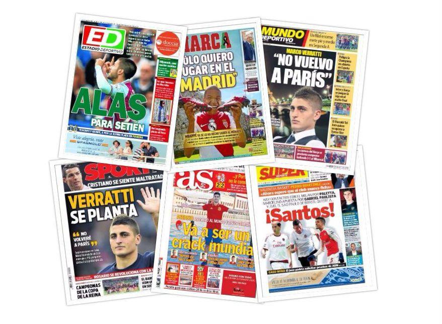 Las portadas del lunes 19 de junio