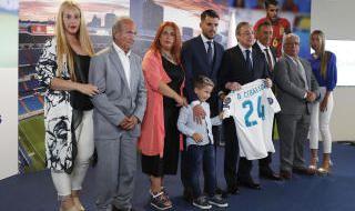 Presentación de Dani Ceballos con el Real Madrid