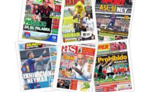Las portadas del domingo 23 de julio