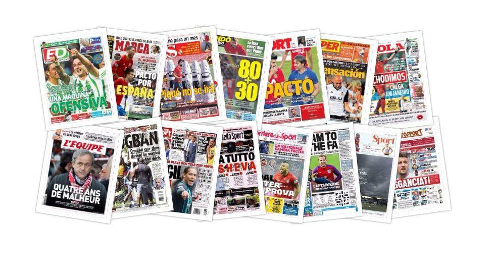 Las portadas del miércoles 4 de octubre