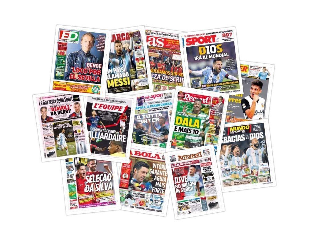 Las portadas del jueves 12 de octubre