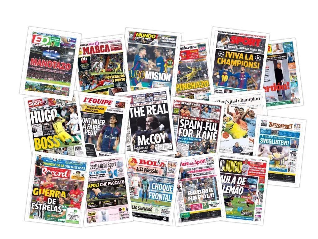 Las portadas del miércoles 18 de octubre