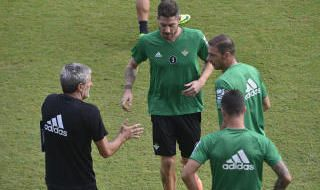Javi García vuelve con el grupo