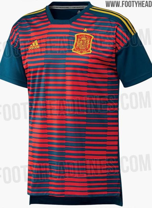 d8e90482e6f6b La camiseta de España para el Mundial - estadiodeportivo.com