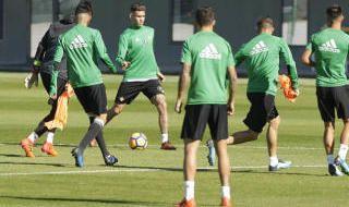 Las imágenes del entrenamiento del Betis