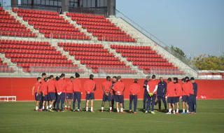 Entrenamiento del Sevilla (15/11/2017)