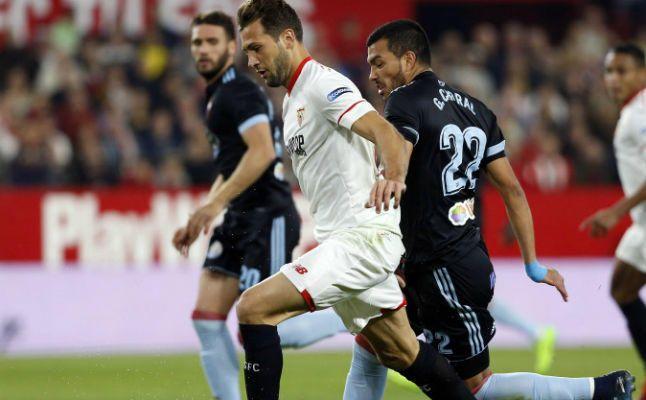Las notas del Sevilla ante el Celta