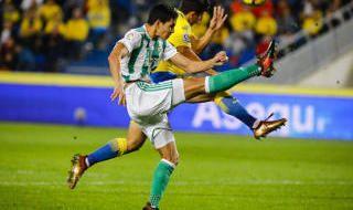 Las mejores imágenes del Las Palmas-Betis