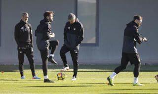 Entrenamiento del Betis (4/12/2017)